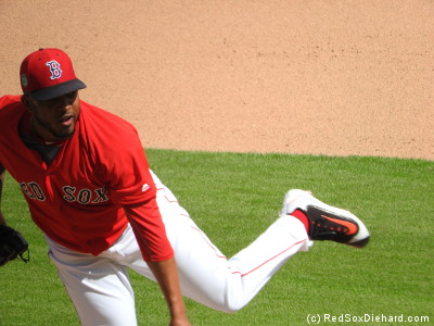 It wasn't a bad day for Fernando Abad, who had two strikeouts and a groundout in a 1-2-3 fifth inning. All the relievers did well today, as Noe Ramirez, Robby Scott, Brandon Workman, and Kyle Martin each threw a scoreless inning.