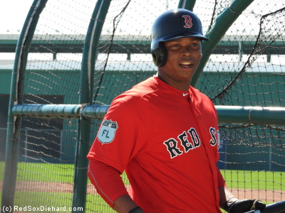 Third baseman Rafael Devers is one of the top prospects in the organization. The 20-year-old made it as far as High-A Salem last season and projects to open the year in Double-A.