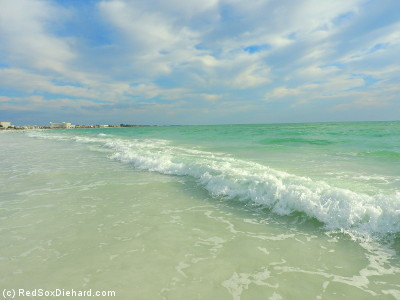 It was another beautiful day at Siesta Key Beach in Sarasota.