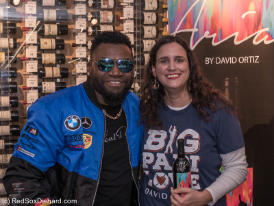 I was just a little excited to meet Big Papi.