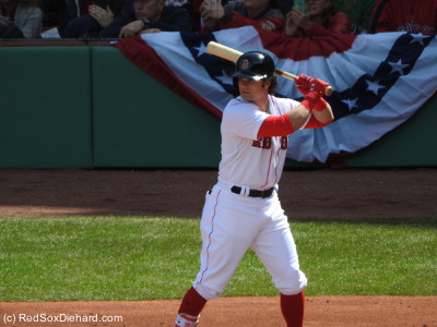 Andrew Benintendi provided the big offensive blast of the day.  He still qualifies as a rookie, and wasted no time getting started on making his case for Rookie of the Year.