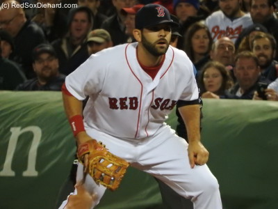 Mitch Moreland was 0-for-3 with a walk.