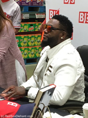 If Big Papi wanted to put his autograph on something else, like a contract for the second half of the season, I wouldn't object.