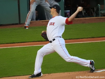 I had plenty of time to take lots of pictures of Drew Pomeranz in the first inning.