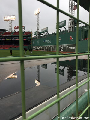 Before the game I had a chance to do some reflecting on the current state of the Sox.