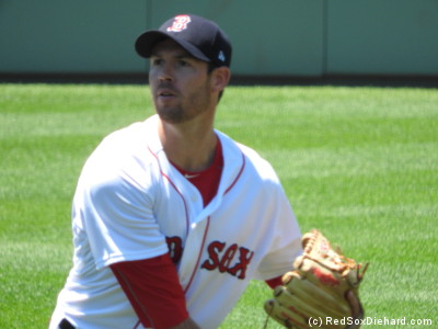 Doug Fister made his first start with the Red Sox.