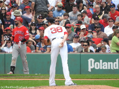 "As my grandfather would have said, ""Fister's not tall, he just has long legs."""