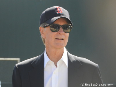 John W. Henry put in an appearance in camp.