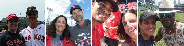 Fan Photo Days over the years have given me the chance to get pictures with Keith Foulke (Game #106, 4/18/04), David Ross (Game #348, 4/14/13), Xander Bogaerts (Game #425, 9/6/15), and Hanley Ramirez (Game #490, 5/20/18).